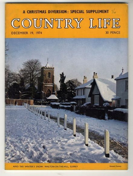 1974 COUNTRY LIFE MAGAZINE 19 December Walton-On-The-Hill KIELDER LYME PARK CHESHIRE